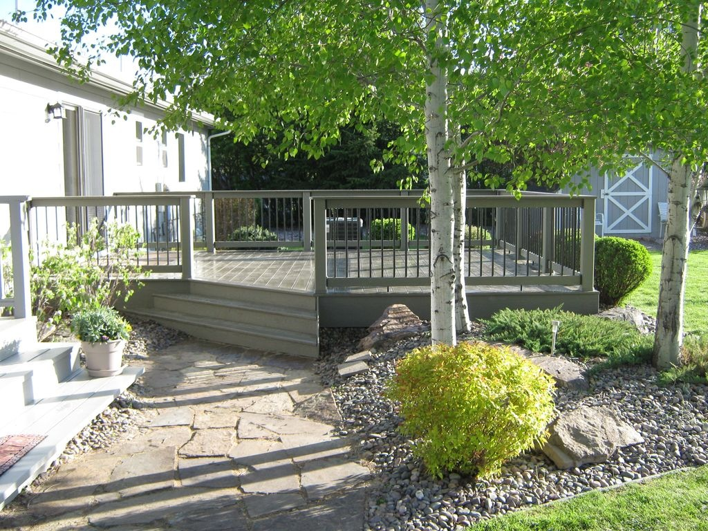 Custom deck in the missoula area.